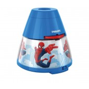 Philips 71769/40/16 - Proiector LED copii MARVEL SPIDER MAN LED/0,1W/3xAA