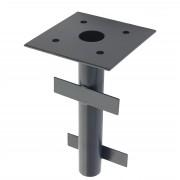 Bodenhülse für Luxus-Ampelschirme HWC-A96, Bodenanker Schirmständer Ø 49mm ~ Variantenangebot