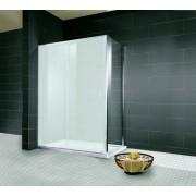 Schulte Home Paroi latérale pour porte de douche coulissante 80 cm, anticalcaire
