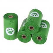 Bolsas biodegradables para heces - 4 rollos de 15 bolsas cada uno