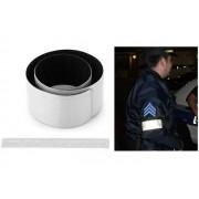 NTR SRB01SI Fényvisszaverő láthatósági pánt 34x3cm - ezüst