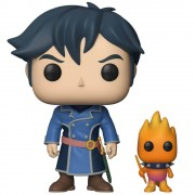 Pop! Vinyl Figurine Pop! Roland et Familier - Ni No Kuni Evan