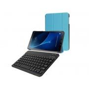 Etui book cover samsung galaxy tab a 10.1 niebieskie klawiatura