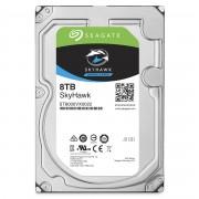 Seagate Segate HDD SkyHawk 8TB 256MB 7.2K 3.5' SATA 3-yr limited warranty