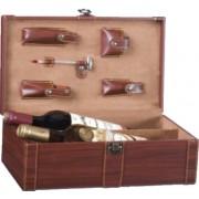 Kufřík na 2 vína s příslušenstvím