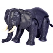 Musical and Walking Elephant Battery Operated Toy for Kids (Batteries are not Included) (Pack of 1)