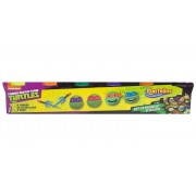 Plastelino - Pasta de modelat Teenage Mutant Ninja Turtles,6 culori