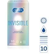 DUREX Invisible Extra Thin Extra Sensitive 10 db