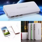 Baterie Externa Power Bank 20000 mah Baterie Urgenta Cu 3 USB Pentru Telefoane