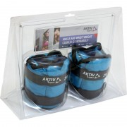 Aktivsport Csukló- és bokasúly 2x2 kg kék