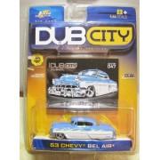 Jada Dub City Oldskool 53 Chevy Bel Air Light Blue/White #047
