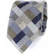Profuomo Krawatte Seide Camel - Braun