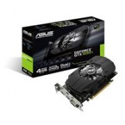 ASUS NVIDIA GeForce GTX 1050 TI, PCI Express 3.0, OpenGL®4.5, GDDR5 4GB, 12 (PH-GTX1050TI-4G)