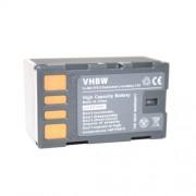 Batterie LI-ION compatible pour JVC GC-PX10, GC-PX10EU, GC-PX100, GC-PX100BEU, GS-TD1, GS-TD1EU remplace BN-VF815 / BN-VF815U