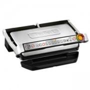 Барбекю Tefal GC722D34, Optigrill+ XL, 2000 W, 9 автоматични програми, Автоматичен сензор за готвене, Индикатор за нивото на готовност, Черен/Инокс