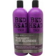 Tigi Duo Pack Bed Head Dumb Blonde 750ml Shampoo + 750ml Conditioner