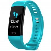 Pulsera electrónica inteligente reloj de pulsera de pantalla de Color impermeable actividad de ritm