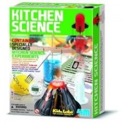 Genric 4M Kitchen Science Kit Educational Toy 6 Experiments Chemistry Lab New