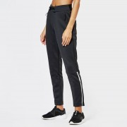 adidas Women's ZNE Pants - Heather/Black - L - Black