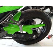 Kawasaki Ninja 300 (2013 onwards) Rear Hugger: Green 073020D