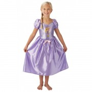 Costum fetite Fairytale Rapunzel, marime M, 5-6 ani