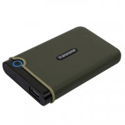 "Transcend 1TB Slim StoreJet2.5"" Rugged Portable HDD"