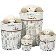 Home affaire Korb-Set »Sheep II«