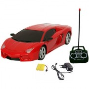 Fantasy India Rechargeable Lambo Remote Control Toy Car (1 24) - (Red/Yellow/Orange)