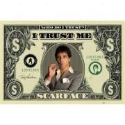 Merkloos Scarface maxi poster dollar 61 x 91,5 cm