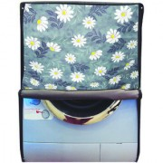 Glassiano Printed Waterproof Dustproof Washing Machine Cover For Front Loading LG FH0B8NDL25 6 kg