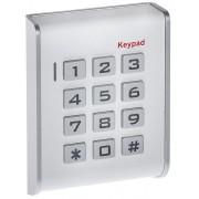 Clavier à code et RFID autonome blanc - WIZELEC