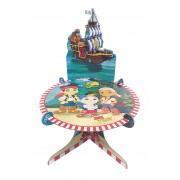 Stand suport pentru tort - cu decor - Jake & The Neverland
