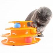 Jucarie interactiva pentru pisici-Tower of tracks