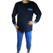 Garey pyžamo s dlouhým rukávem AH7814-0 XXL tmavě modrá