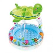 Intex Sea Turtle Baby Pool With Sun Shade