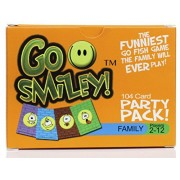 Go Smiley Party Pack: Go Fish! No Numbers, No Colors, Just Funny Faces! One of The Funniest Kids Games The Family Will Ever Play! Preschool Kid to Adult