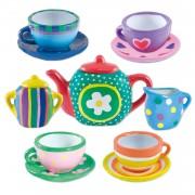 Set ceramica Galt Picteaza un set de ceai, 5 ani+