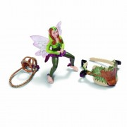 Schleich Forest Elf Riding Set