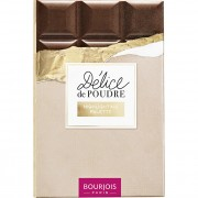 Bourjois Paletă cu efect de iluminare, oferă tenului o strălucire perfectă Délice de Poudre (Highlighting Palette) 18 g