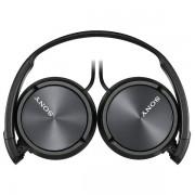 SONY naglavne slušalke, MDRZX310B črne MDRZX310B.AE