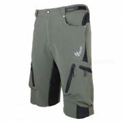 ARSUXEO Sportswear Pantalones cortos para ciclismo - Army Green (XL)
