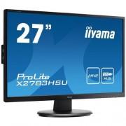 Monitor iiyama X2783HSU-B1, 27'', LCD, 1920x1080, 5 000 000:1, 4ms, 300cd, D-SUB, DVI-D, HDMI, 3x USB