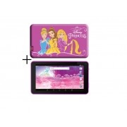 "eSTAR Themed Tablet Princess 7"" ARM A7 QC 1.2GHz/1GB/8GB/0.3MP/WiFi/Android 7./Pink/Princess Futrola"