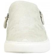 gentle souls Douceur des Lowe Double Zip Sneaker âmes féminines Blanc 8.5 US / 6.5 UK