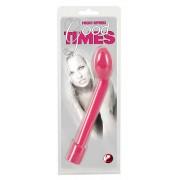 Good Times - 10 ritmusú G-pont vibrátor (pink)
