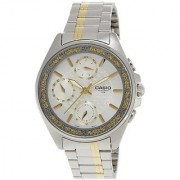 Casio Enticer White Dial Womens Watch - Ltp-2086Sg-7Avdf (A856)