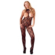 Mandy Mystery Open Bust Catsuit - Xlarge-2XLarge