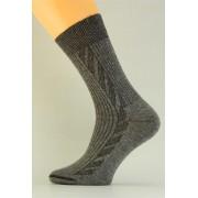 Bavlněné pánské ponožky P001 mele