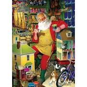 Cobble Hill Santas Workshop Jigsaw Puzzle, 1000-Piece