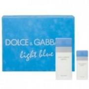 Dolce & Gabbana Light Blue 100 ml EDT + 25 ml EDT Dámská dárková sada